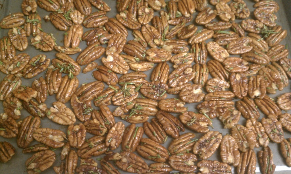 Arlington Darling | Roasted Rosemary Chili Pecans